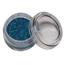 Glitter licht blauw 10 ml