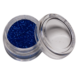 Glitter Donker blauw 10 ml