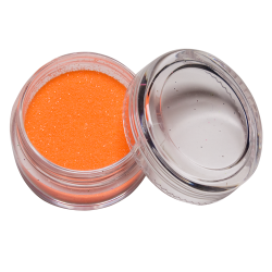Glitter UV Oranje 10 ml Glow in the dark