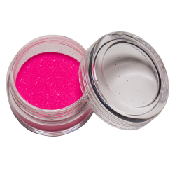 Glitter UV Roze 10 ml Glow in the dark