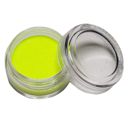 Glitter UV Geel 10 ml Glow in the dark